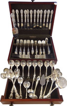 Melrose by Gorham Sterling Silver Flatware Service for 12 Set 119 Pieces - $7,150.00