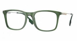 Burberry Elgin BE2343 3946 Eyeglass Frame - Green, Size 53 mm - $249.99