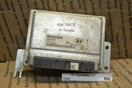 2001 Hyundai Sonata 2.5L Engine Control Unit ECU Module 3910937006 839-11e8 - $14.99