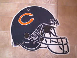 "NFL Chicago Bears Helmet Design, 16 1/2"" wide x 14 1/2"" tall, Heavy Fabric, 125 - $14.99"