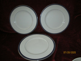 Royal Worcester Avalon set of 3 dinner plates - $44.50