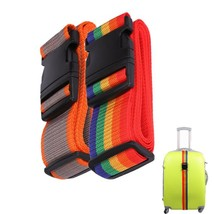 Travel Equipment Adjustable Packing Band Belt Strap for Luggage Baggage-... - £9.86 GBP