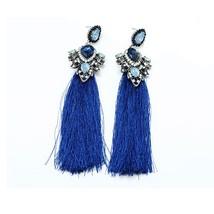 Bohemian Long Tassel Earrings For Women EthnicBig Maxi  vintage Design C... - $10.42