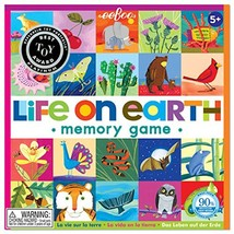 eeBoo Life on Earth Memory Matching Game - $21.16