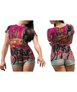 Thin Lizzy  Full print 3D All Over Print T-shirt Tees For  Women - $16.99+
