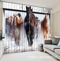 3D Horse Art289 Blockout Photo Curtain Printing Curtains Drapes Fabric Window UK - $145.49+