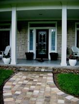 Concrete Paver Molds 12 8x8x1.5 Make Garden Cobblestone Walls Walks Patio Pavers image 2
