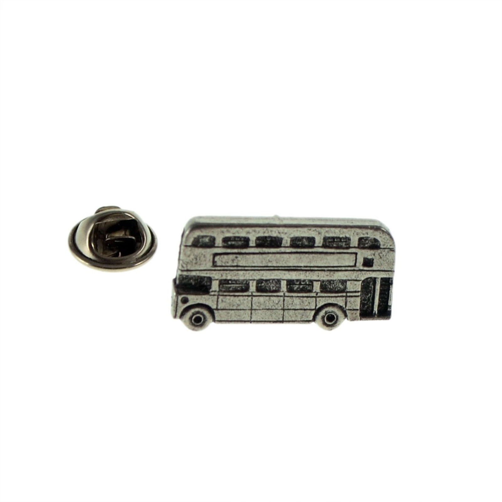 english routemaster bus made from english pewter  pin badge lapel Badge / tie pi