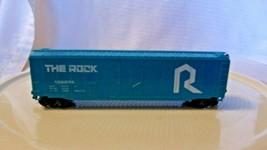 HO Scale Bachmann 50' Box Car, Rock Island, The Rock, Blue, #133274 - $24.75