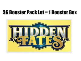 Pokemon Hidden Fates 36 Booster Pack Lot = Booster Box Pokemon TCG  - $349.95