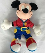 Mickey Mouse vintage Mattel 1992 el segundo tech me stuffed plush learni... - $15.90