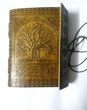 "5"" X 7"" Handmade Leather Journal diary Celtic Tree of Life Book of Shado... - $24.49"