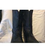 Tony lama Cowboy/Western boots black size 11 - $99.99