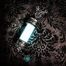 Supernatural Inspired Glow In The Dark Angel Grace Necklace With Silver Tone Rol
