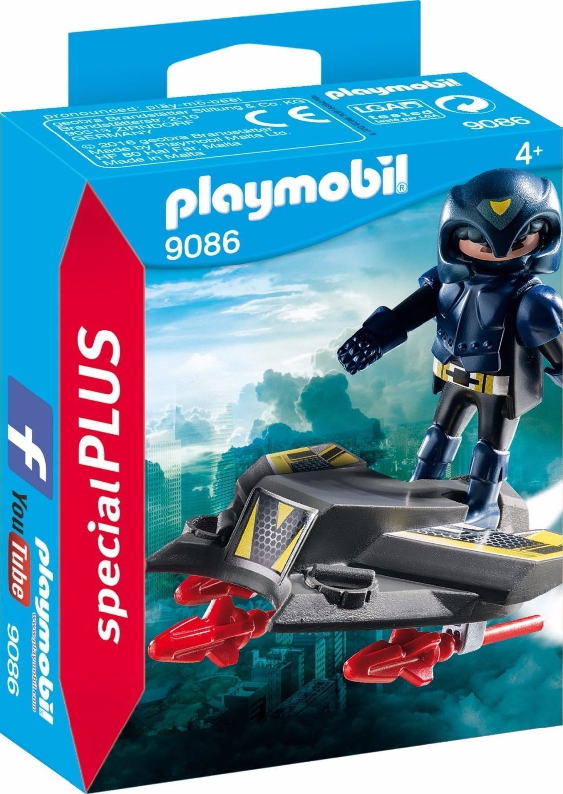Playmobil 9086 - Special PLUS - Sky Kight Jet - Special Series - New and Sealed