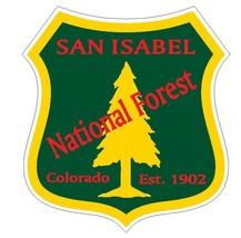 San Isabel National Forest Sticker R3302 Colorado You Choose Size - $1.45+