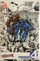 Fantastic Four #555 Marvel 2008 New York Comic Con Variant - $22.92