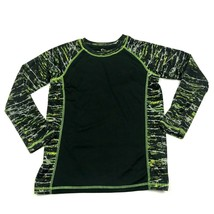 Sport Dry Fit Long Sleeve Shirt Size Large 12 / 14 Youth Tee Lightweight... - $9.71