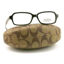 COACH 6018 5034 Eyeglasses Black 51 15 135 Demo Lens without case finish line - $59.00