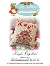 Kringle's Gingerbread christmas cross stitch chart Sugar Stitches Designs  - $6.00