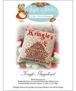 Kringle's Gingerbread christmas cross stitch ch... - $6.00