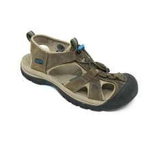 Keen 1003993 Womens Size 8 Venice Waterproof Leather Brown Sandal Shoes - $38.69
