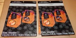 "Halloween Treat Boxes Food Crafting 12 Sets 3"" x 3"" x 5 1/4"" Celebrate I... - $7.49"