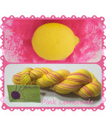 Pink Lemonade ~ Hand dyed sock/fingering weight yarn - $20.00 - $24.00