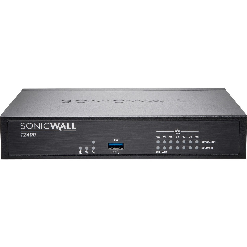Primary image for SonicWALL TZ400 GEN5 Firewall Replacement - 7 Port - 10/100/1000Base-T - Gigabit