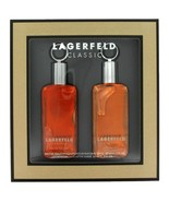 Lagerfeld By Karl Lagerfeld Gift Set 2 Oz Eau De Toilette Spray Plus 2 O... - $30.40