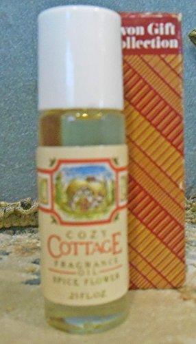 "Avon Cozy Cottage Home Fragrance Oil .25oz Miniature""Spice Flower"" Discontinued"