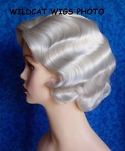 Fingerwave Quality Wig, Rose.  Color 60- White.  NEW!   BEST SELLER!  - $34.99