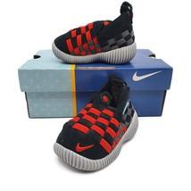Nike Kids Unisex Little Weave Walker Shoes Blue Red Slip On 2 C New - $44.54