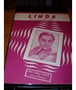 Vintage Sheet Music  Linda  Blue Barron Orchestra  - $7.99