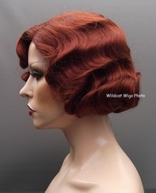 Finger wave Quality Wig, Rose.  Color 130- Fox Red.  BEST SELLER Downton... - $34.99