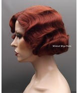 Finger wave Quality Wig, Rose.  Color 130- Fox Red.  BEST SELLER Downton... - $34.99