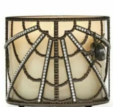 Bath & Body Works Halloween SPIDER WEB Large 3-Wick Candle Holder New 2021 - $29.50