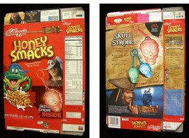 Kelloggs Kellogg's Honey Smacks Disney Pirates of the Caribbean Johnny Depp - $16.99