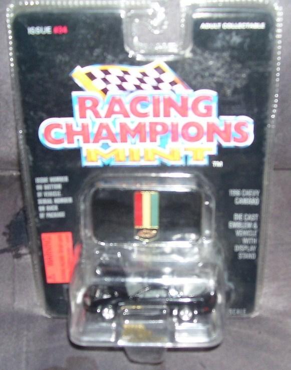 Racing champions 1996 chevy camaro black