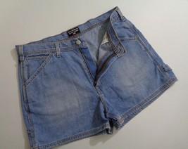 Polo Jeans Co Ralph Lauren Denim Shorts Carpenter 34W Pants Jean Womens ... - $19.59