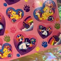 Lisa Frank Complete Sticker Sheet S213Heart Style Butterflies Kittens Balloons image 2