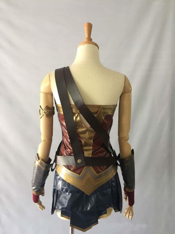 Wonder Woman Costume Diana Prince Cosplay Outfit Women Superhero HalloweenCustom