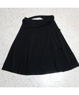 East5th Women's Skirt ~ Sz 10 ~ Black ~ Knee Length ~ Pleated - $24.74