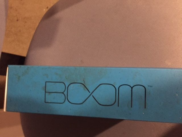 NEW BOOM Urchin Ready 4 Anything Water Resistant Bluetooth Speaker (Blue)