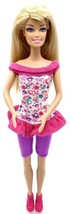 Barbie Fashionista Doll Blonde Blue Eyes Jointed Knees Two Piece Outfit ... - $4.70