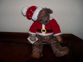 Ganz Cottage Collectibles Teddy Bear Santa Suit Bernie - $35.99