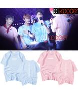KPOP Seventeen T-shirt DIAMOND EDGE Concert Tshirt Letter Tee HOSHI THE8... - $9.99
