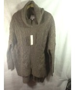 Romeo & Juliet Couture Womens Pullover Tunic Sweater Sz M NWT - $34.99