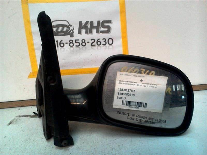 Primary image for Passenger Right Side View Mirror Manual Fits 96-00 CARAVAN 28089