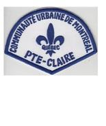 Montreal Police Department Communaute Urbaine Pointe-Claire Station Reti... - $9.99